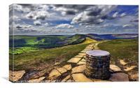 Losehill Derbyshire, Canvas Print