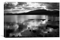 Loch Rannoch, The Highlands, Canvas Print