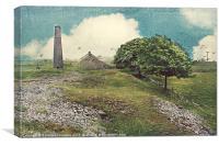 Magpie Mine Derbyshire., Canvas Print