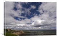 St.Andrews sky, Canvas Print
