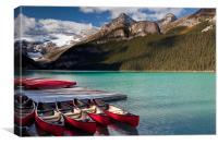Lake Louise, Canvas Print