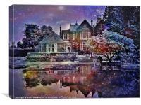 Enchanted at Twilight, Canvas Print