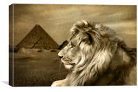 Sphinx, Canvas Print