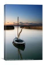 Musselburgh Harbour, Canvas Print