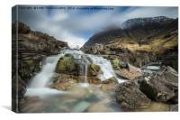 Glencoe River, Canvas Print