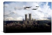 The Arrival of VeRA , Canvas Print