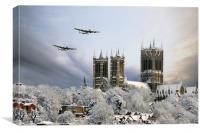 Winter War , Canvas Print