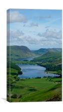 Buttermere from Haystacks, Canvas Print