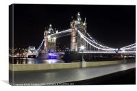 Tower Bridge not London Bridge, Canvas Print