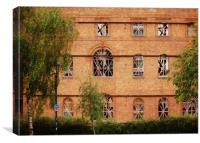 Old Abandoned Warehouse., Canvas Print