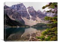 Moraine Lake, Canvas Print