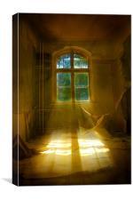 Hospital sun beam, Canvas Print