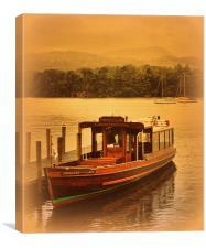 Princess of the Lake, Canvas Print