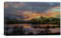 Derwent Water., Canvas Print