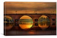 The Dordogne, Canvas Print