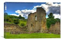 Kirkham Priory Ruins #2, Canvas Print
