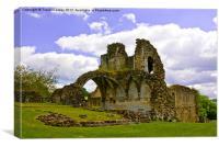 Kirkham Priory Ruins #3, Canvas Print