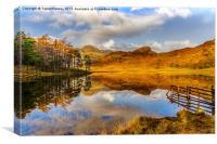 Autumn at Blea Tarn, Canvas Print