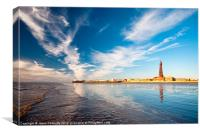 Blackpool Tower Reflections, Canvas Print