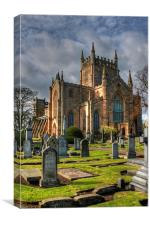 New Abbey Church, Canvas Print
