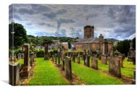 Linlithgow Town House, Canvas Print
