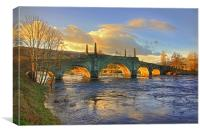 Wades Bridge at Aberfeldy, Canvas Print