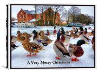 Merry Xmas to Everyone on P4ME, Canvas Print