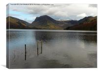 Lake Buttermere., Canvas Print