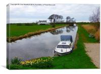 The Lancaster Canal, Canvas Print