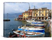 Malcesine-Italy, Canvas Print