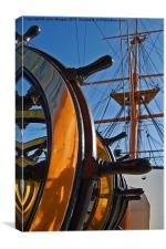 Before the mast., Canvas Print