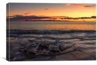 Sunset Over Fuerteventura, Canvas Print