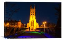 St Mary's Rectory Derby UK, Canvas Print