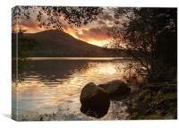 Loweswater Sunset, Canvas Print