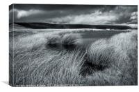 Stormy Weather, Kinder Scout, Canvas Print
