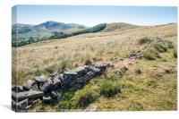 The Great Ridge, Derbyshire, Canvas Print