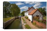 Gringley Top Lock, Canvas Print