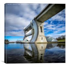 The Majestic Falkirk Wheel, Canvas Print