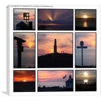 Cornish Sunsets, Canvas Print