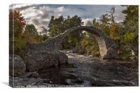 Old Pack Horse Bridge, Canvas Print