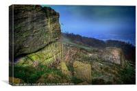 Chevin Surprise View, Canvas Print