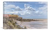 Sheringham Seafront, Norfolk, Canvas Print