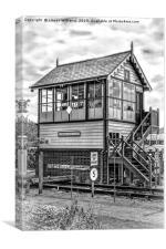 Sheringham East Signal Box, Canvas Print