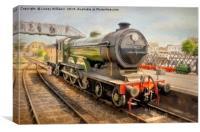 LNER B12 – 8572 Steam Train, Canvas Print