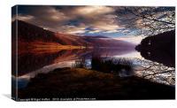 Derwent Reservoir, Canvas Print