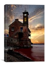The Clock Tower, Canvas Print