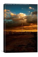 Turbine, Canvas Print