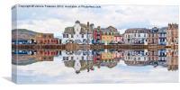 Millport Town, Canvas Print
