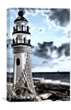 Little Lighthouse, Canvas Print