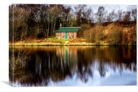Millport Loch , Canvas Print
